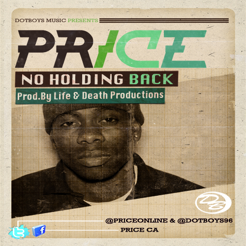 Price No Holding Back Cover Art